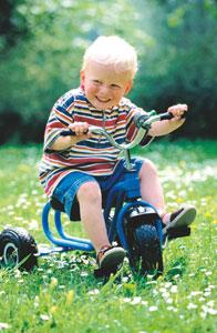 παιδί ποδήλατο