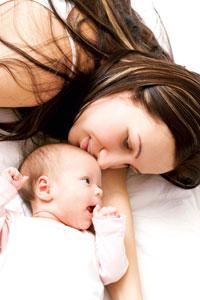κολικοί μωρού, μωρά που θηλάζουν
