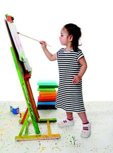 παιδικές δημιουργίες, παιδιά και ζωγραφική, ενθάρρυνση ταλέντου παιδιού