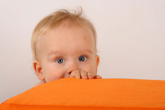 kid with blanket