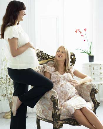 εγκυες γυναίκες στο ιατρείο