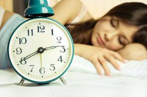 ρολόι έγκυος κοιμάται