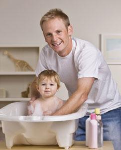 Πως να κάνετε μπάνιο το μωρό με ασφάλεια