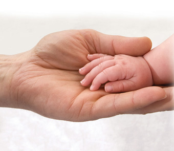 δεσμοί μωρού, με μαμά