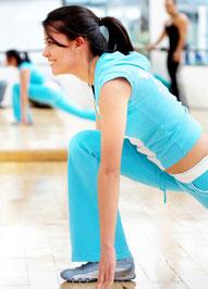 γυναίκα γυμναστήριο