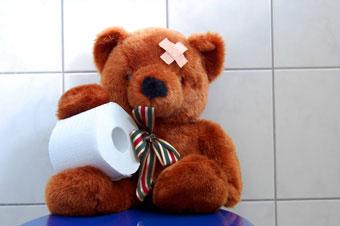 αρκουδάκι χαρτί υγείας