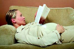εγκυμοσύνη και ξεκούραση