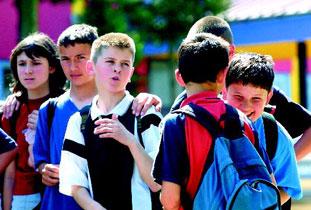 παρέα αγοριών σχολείο