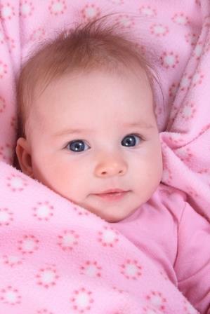 μωράκι στα ροζ