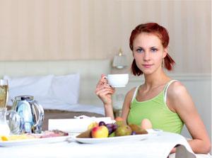 υγιεινή διατροφή γυναίκας μετά την εγκυμοσύνη