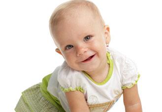 μωρό γελάει