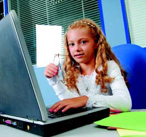 εφηβη και υπολογιστής