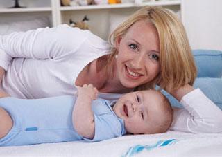 μαμά με το μωρό