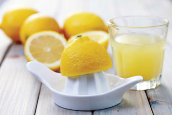 λεμόνια χυμός