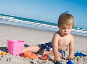 καθαρές παραλίες για παιδιά