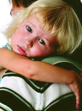 παιδάκι λυπημένο
