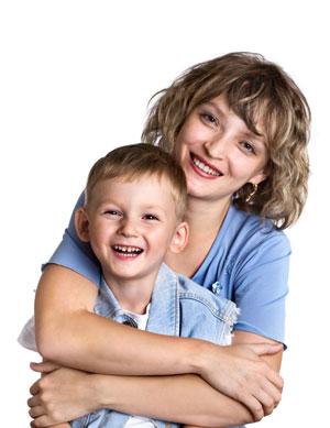μαμά και γιός
