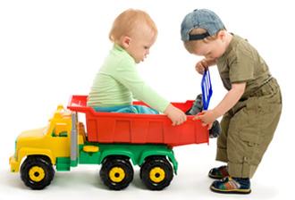 παιδικές φιλίες, παιχνίδια για παιδιά
