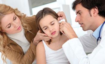ωτορινολαυγγολόγος παιδί