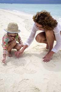παιχνίδια στην άμμο