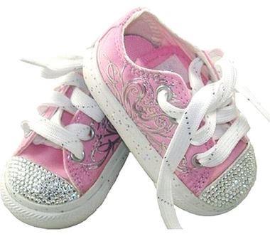 shoes with swarofski
