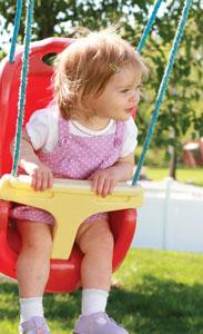 κούνιες, παιδική χαρά, παιδικές δραστηριότητες