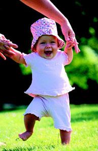 βήματα μωρού