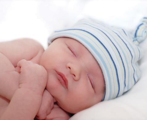 νεογέννητο κοιμάται