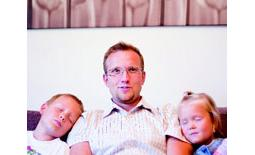 μπαμπάς με παιδιά