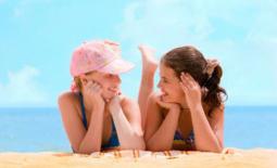 δύο κορίτσια