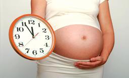 εγκυος και ρολόι ώρα τοκετού