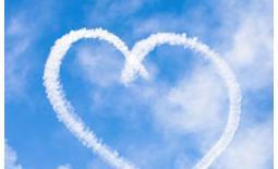 καρδιά στον ουρανό