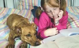 παιδί και σκύλος