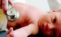 μωρό στον γιατρό