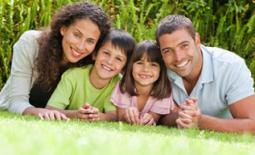 οικογένεια στην εξοχή