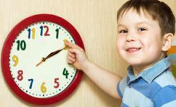 παιδί και ρολόι