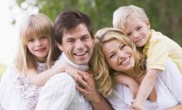 οικογένεια με παιδιά