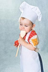 μικρός μάγειρας σέφ