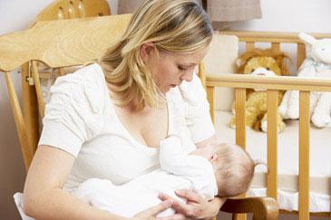 Θηλασμός μωρού