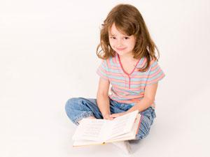 κορίτσι διαβάζει