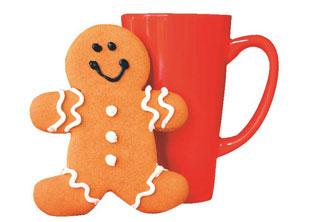 μπισκότα με καφέ