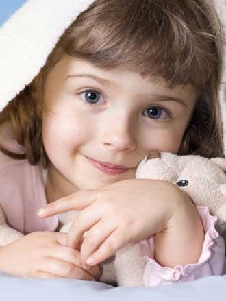 τρίχρονο κορίτσι