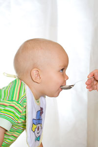 στερεά τροφή για μωρά, υγιεινή κρέμα, μωρό
